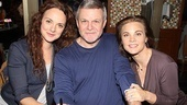 Tony nominee Melissa Errico, Follies leading man Ron Raines and One Life to Live's Gina Tognoni give us a smile.