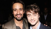 Lin-Manuel Miranda and Daniel Radcliffe are all smiles on the Artios Awards' big night.