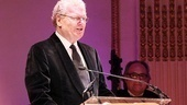 This year's gala honors American Theatre Wing board member Sir Howard Stringer, the Chairman, Chief Executive Officer and President of Sony Corporation.