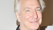 A parting shot of the man of the hour: Alan Rickman, who will return to Broadway in Seminar beginning October 27. Sign us up!