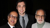 George C. Wolfe Gets Mr. Abbott Award  George C. Wolfe  Jim Parsons  Larry Kramer