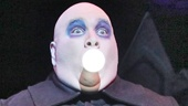 Blake Hammond as Uncle Fester in The Addams Family.