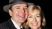 Jefferson Mays enjoys the evening with wife Susan Lyons.