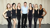 Lucky ladies Emily Tyra, Anne Otto, Hilary Michael Thompson, Lara Seibert, Robin Campbell and Kearran Giovanni will take the stage to sing and dance with Hugh Jackman.