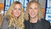 Memphis Second Broadway Anniversary  David Bryan  wife Alexandria