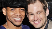 Derrick Baskin and Chad Kimball have loved co-starring on Broadway for two years.