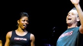 "Adam Pascal and Montego Glover tear in to the Memphis anthem ""The Music of My Soul."""