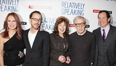 <i>Relatively Speaking</i> Opening Night -  Marlo Thomas – Ethan Coen – Elaine May – Woody Allen – Steve Guttenberg