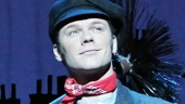 Nicolas Dromard as Bert in the national tour of Mary Poppins.