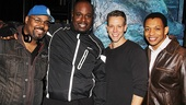 Original Broadway stars James Monroe Iglehart, J. Bernard Calloway and Derrick Baskin welcome Adam Pascal to Memphis.