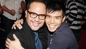 Godspell reunion  Eliseo Roman  Telly Leung