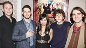 Asuncion opening - Remy Auberjonois - Justin Bartha - Camille Mana - Jesse Eisenberg - Kip Fagn 