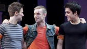 Show Photos - West Side Story national tour - Christopher Rice - Drew Foster - Clay Thomson