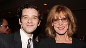 Michael Urie (on hand to support his former Ugly Betty co-star Judith Light) shares a party pic with Christine Lahti.