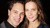 Stage siblings Thomas Sadoski and Rachel Griffiths share some intense scenes in Jon Robin Baitz's new play.