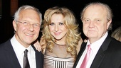 Nina Arianda gets between two important men in her life: Venus in Fur director Walter Bobbie and her father.