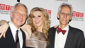 Director Walter Bobbie, leading lady Nina Arianda and playwright David Ives began their Venus in Fur journey together off-Broadway, and now they're thrilled to share a Broadway opening night.