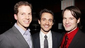 Its a Journeys End reunion for former co-stars Stark Sands, Hugh Dancy and Kieran Campion.