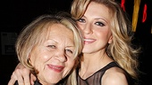 "Nina Arianda thanks her ""incredibly supportive, loving and good-looking parents"" in her Venus in Fur bio. We see what she means in this shot with her mom."