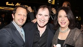Venus in Fur Broadway Opening Night  Rob Ashford  Richard Kind  Lynne Meadow
