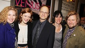 Venus in Fur Broadway Opening Night  Molly Smith Metzler  Colby Minifie  David Hyde Pierce  Leigh Silverman  Michael Chernus