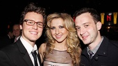 Venus in Fur Broadway Opening Night  Jonathan Groff  Nina Arianda  Eddie Kaye Thomas