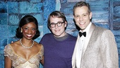 Montego Glover and Adam Pascal share a parting shot with two-time Tony winner Matthew Broderick. We cant wait to see Broderick back on stage in spring 2012 in Nice Work If You Can Get It. 