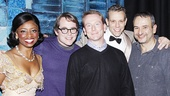 Matthew Broderick at Memphis  Montego Glover  Matthew Broderick  Derek McCracken  Adam Pascal  Joe DiPietro