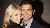 Standing on Ceremony's Mark Consuelos goes cheek to cheek with his supportive wife, Kelly Ripa.