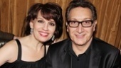 Tony winner Beth Leavel cozies up to playwright Moises Kaufman.
