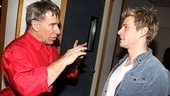 Hunter Parrish takes a few pointers from Godspell's legendary composer Stephen Schwartz.