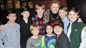 <i>Billy Elliot</i> Third Anniversary – Carole Shelley and the boys of <i>Billy Elliot</i>