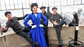Steffanie Leigh and her co-stars step in time for a fantastic photo op on top of the Empire State Building. Happy fifth anniversary, Mary Poppins!