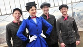 "The fifth anniversary of Mary Poppins is surely a ""Jolly Holiday"" for Steffanie Leigh and her castmates."
