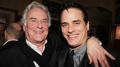 Private Lives director Richard Eyre throws an arm around the show's strapping star, Paul Gross.