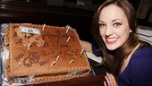 <i>Bonnie & Clyde</I> Birthday Pizza Party -  Laura Osnes
