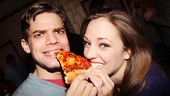 <i>Bonnie & Clyde</I> Birthday Pizza Party – Jeremy Jordan – Laura Osnes