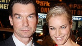 Ever the gentleman, Seminar star Jerry O'Connell walked the red carpet with his wife, Rebecca Romijn, before the show!