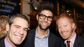 Seminar Opening Night  Andy Cohen  Justin Mikita  Jesse Tyler Ferguson