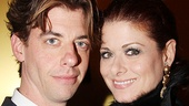 Seminar Opening Night  Christian Borle  Debra Messing