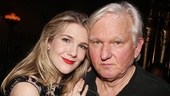Great stage star, great playwright: Theater is all in the family for Lily Rabe and her Tony-winning father, David Rabe. (The two plan to collaborate later this season in the world premiere of Rabe's A Small History of Fire.)