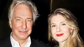 Seminar Opening Night  Alan Rickman  Lily Rabe
