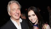 Seminar Opening Night – Alan Rickman – Lily Collins