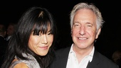 In Seminar, Hettienne Park attracts the attention (professional and personal) of Alan Rickman.