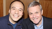 Leading men Danny Burstein and Ron Raines serenade  Follies fans with a song and a smile. 