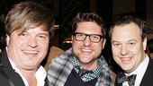 <i>Bonnie & Clyde</i> opening night – Rob Evan – Christopher Seiber – Tad Wilson