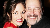 &lt;i&gt;Bonnie &amp; Clyde&lt;/i&gt; opening night  Laura Osnes  Frank Wildhorn 