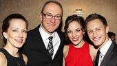 &lt;i&gt;Bonnie &amp; Clyde&lt;/i&gt; opening night  Laura Osnes  Nathan Johnson 