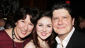 What better way for She Loves Me co-star Michael McGrath to celebrate this star-studded benefit than with his family?