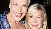 Olivia Newton-John is thrilled to see Tony Sheldon representing Australia on Broadway.